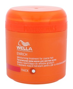 Wella Enrich Thick Hair (W) Maska do włosów 150ml