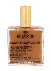 NUXE Huile Prodigieuse Or Multi-Purpose Shimmering Dry Oil Suchy olejek do ciała z dorbinkami złota 100ml