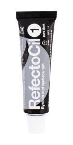 RefectoCil Eyelash And Eyebrow Tint Henna do rzęs 15ml 1 Pure Black