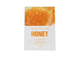 A'PIEU My Skin-fit Sheet Mask Maseczka Odżywcza 25g - Honey