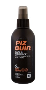 PIZ BUIN Tan Intensifier SPF6 W Preparat do opalania ciała 150ml