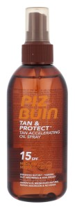 PIZ BUIN Tan & Protect Tan Accelerating Oil Spray SPF15 W Preparat do opalania ciała 150ml