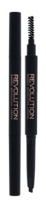 Makeup Revolution London Duo Brow Definer Kredka do brwi 0,15g - Light Brown