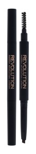 Makeup Revolution London Duo Brow Definer Kredka do brwi 0,15g - Medium Brown