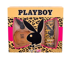 Zestaw Playboy Play It Wild For Her (W) edt 90ml + dezodorant 150ml