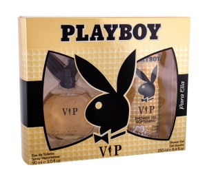 Zestaw Playboy VIP For Her (W) edt 90ml + żel 250ml