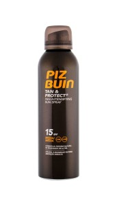 PIZ BUIN Tan & Protect Tan Intensifying Sun Spray SPF15 W Preparat do opalania ciała 150ml