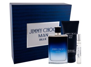 Zestaw Jimmy Choo Jimmy Choo Man Blue (M) edt 100ml + edt 7.5ml + balsam po goleniu 100ml