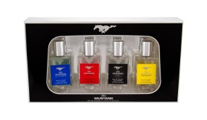 Zestaw Ford Mustang Collection (M) Blue Cologne edt 15ml + Sport edt 15ml + Mustang edt 15ml + Performance edt 15ml
