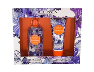 Zestaw Aubusson First Moment (W) edp 100ml + mleczko do ciała 100ml
