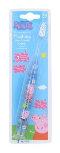 Peppa Pig Peppa Battery-Operated Flashing Toothbrush Szczoteczka do zębów 1szt