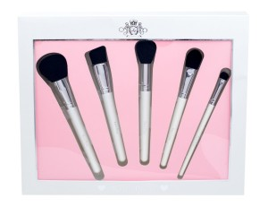 Makeup Revolution London Katie Price The Complete Brush Collection Zestaw pędzli do makijażu
