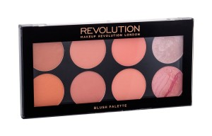 Makeup Revolution London Blush Palette Róż 13g Hot Spice