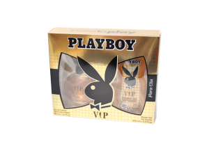 Zestaw Playboy VIP For Her (W) edt 90ml + żel pod prysznic 250ml