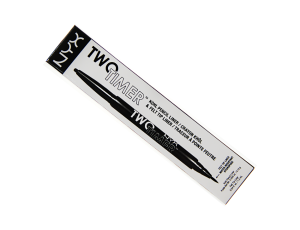 NYX Professional Makeup Two Timer Dwustronny Eyeliner - 01 Black