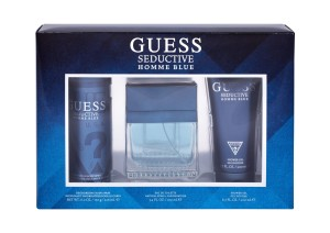 Zestaw GUESS Seductive Homme Blue (M) edt 100ml + żel 200ml + dezodorant 226ml