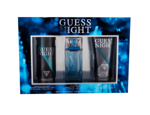Zestaw GUESS Night (M) edt 100ml + dezodorant 226ml + żel pod prysznic 200ml