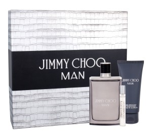 Zestaw Jimmy Choo Jimmy Choo Man (M) edt 100ml + edt 7.5ml + balsam po goleniu 100ml
