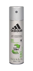 Adidas 6in1 Cool & Dry 48h (M) Antyperspirant 200ml