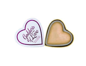 I HEART REVOLUTION Highlighter Goddess Of Love Wypiekany Puder Rozświetlający