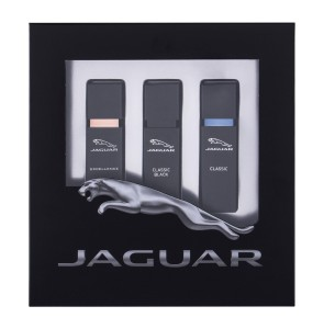 Zestaw Jaguar Classic Black edt 15 ml + edt Classic 15ml + edt Excellence 15ml