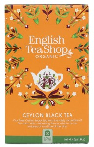 English Tea Shop Organic Ceylon Black Tea Organiczna Herbata 30g - 20 saszetek
