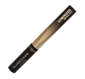 Loreal Super Liner Luminizer Brown Eyes - Black Diamond