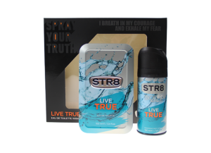 Zestaw STR8 Live True (M) edt 100ml + dezodorant 150ml