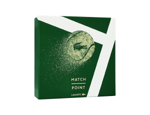 Zestaw Lacoste Match Point (M) edt 50ml + żel pod prysznic 75ml