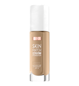 Astor Skin Protect Foundation SPF18 30ml - 203 Peachy
