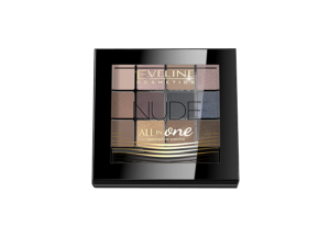 EVELINE All In One Paletka cieni 12g -  01 Nude