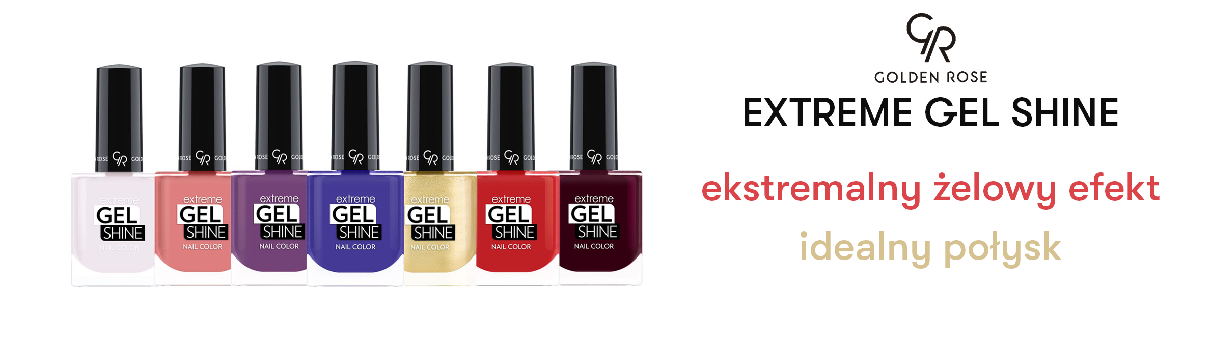 Golden Rose Extreme Gel Shine